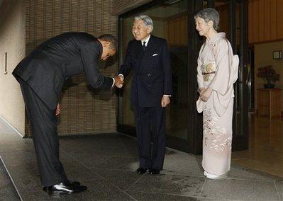 Obama Bowes Again!